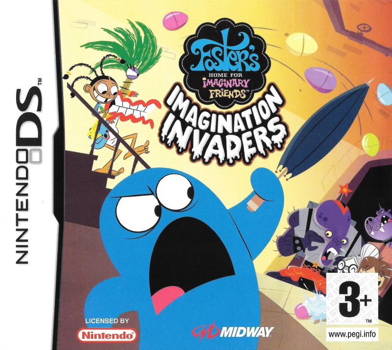Nintendo DS Foster's Home for Imaginary Friends: Imagination Invaders