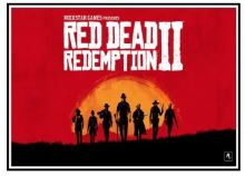Plakát Red Dead Redemption 2 - Dutch's Boys (a) (nový)