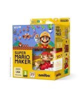 Nintendo Wii U Super Mario Maker + Artbook + amiibo 30th Anniversary - Classic Colours Mario