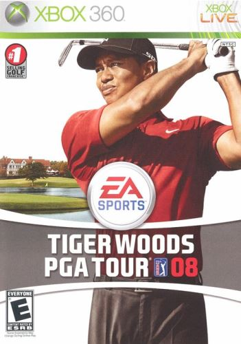 Xbox 360 Tiger Woods PGA Tour 08