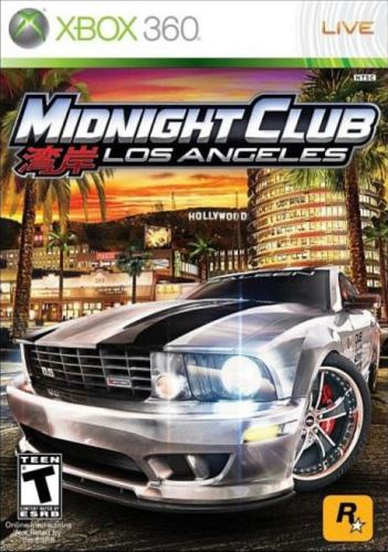 Xbox 360 Midnight Club Los Angeles