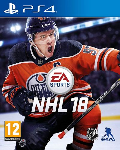 PS4 NHL 18 2018 (CZ)