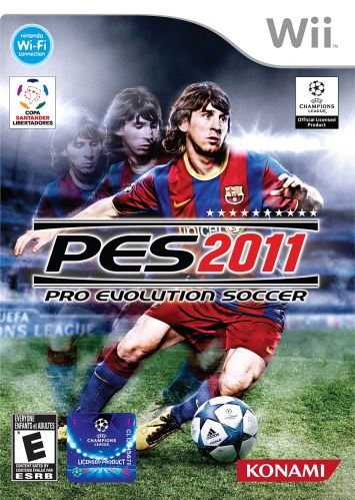 Nintendo Wii PES 11 Pro Evolution Soccer 2011