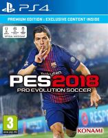 PS4 PES 18 Pro Evolution Soccer 2018 Premium Edition (nová)