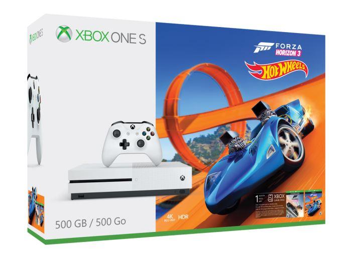 Xbox One S 500 GB + Forza Horizon 3 Hot Wheels (nové)