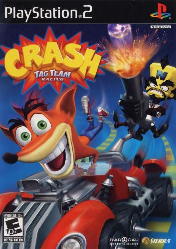 PS2 Crash: Tag Team Racing