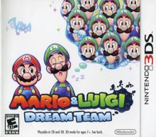 Nintendo 3DS Mario and Luigi Dream Team (nová)