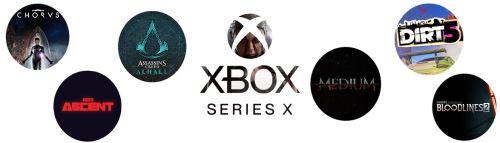 Potvrzené hry pro Xbox Series X