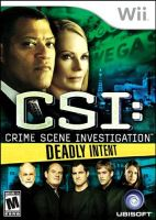 Nintendo Wii CSI: Crime Scene Investigation - Deadly Intent