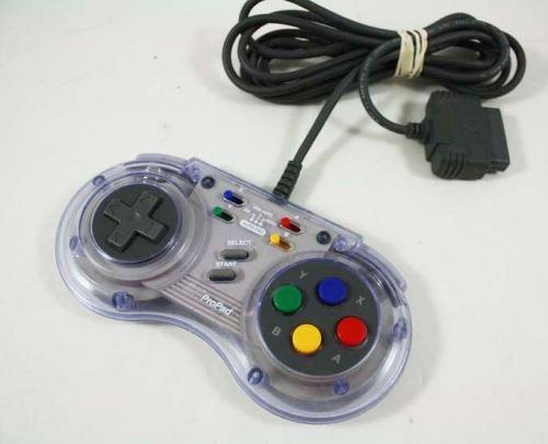 [Nintendo SNES] Drátový Ovladač SN ProPad (estetická vada)