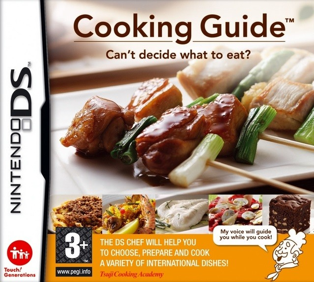 Nintendo DS Cooking Guide: Cant Decide What To Eat? (nová)