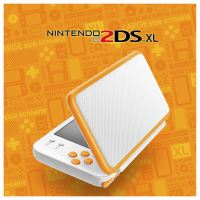 New Nintendo 2DS XL - žlutobílé