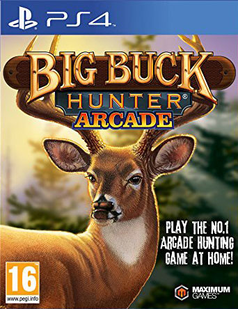 PS4 Big Buck Hunter Arcade (nová)