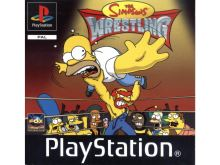 PSX PS1 The Simpsons - Wrestling