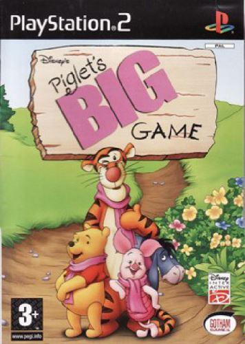 PS2 Disney Piglets Big Game - Prasátkova Velká Hra (DE)