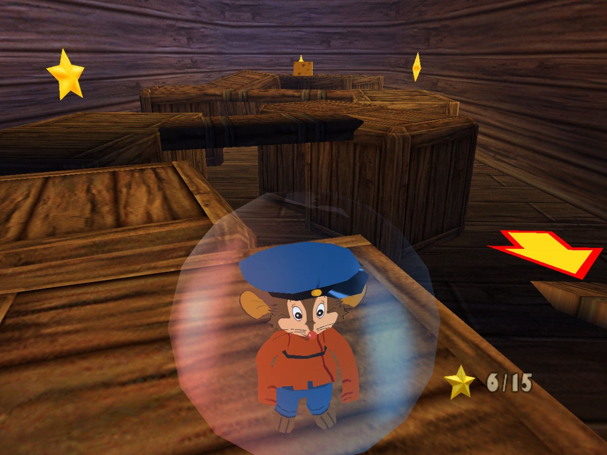 PS2 An American Tail