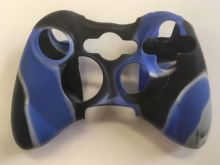 [Xbox 360] Protiskluzový Návlek Na Ovladač (modro černý)