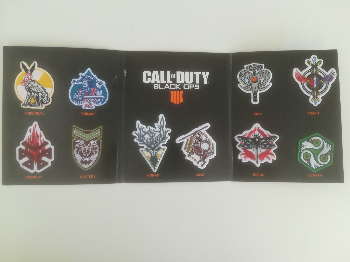 Call of Duty: Black Ops 4 - Collector's Edition Specialist Patches Set