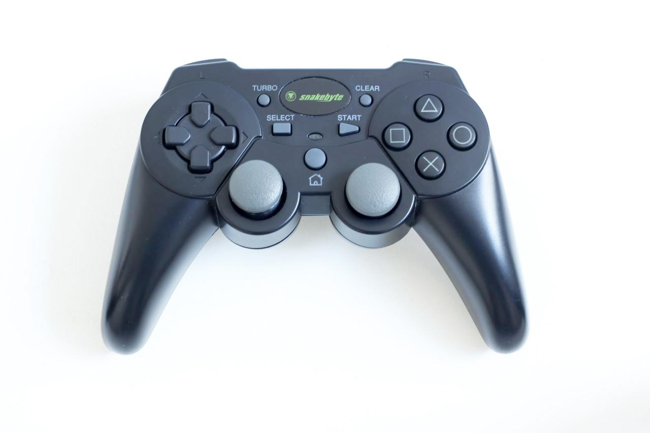[PS3] Bezdrátový Ovladač Snakebyte - černý (estetická vada)