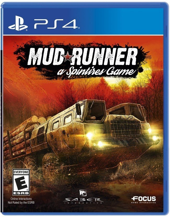 PS4 Mudrunner: a Spintires Game