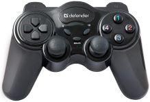 [PC] Bezdrátový Ovladač Defender - černý