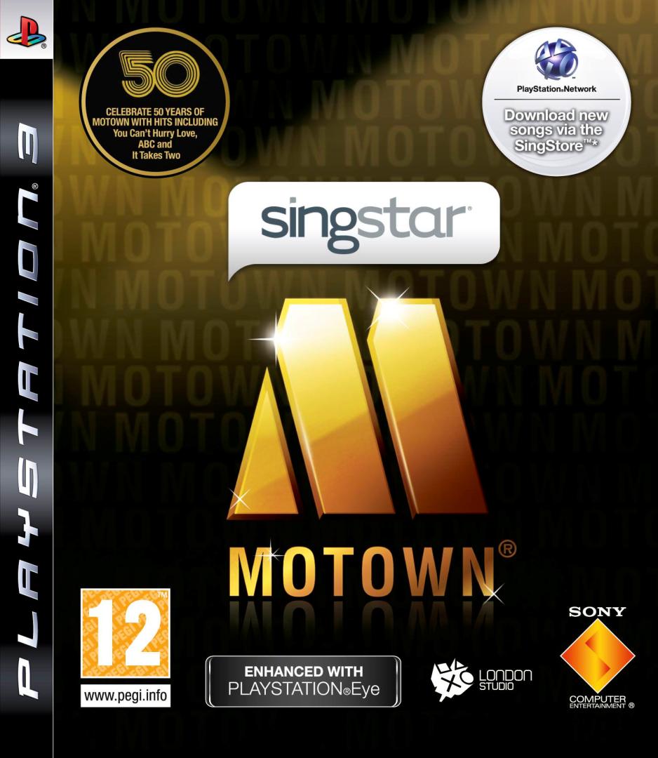 PS3 Singstar Motown