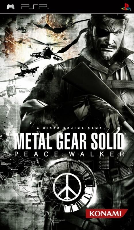PSP Metal Gear Solid Peace Walker (nové)