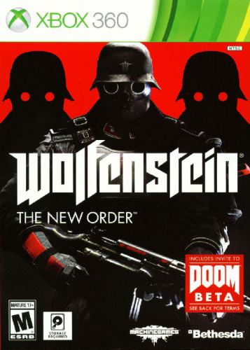 Xbox 360 Wolfenstein The New Order Occupied Edition