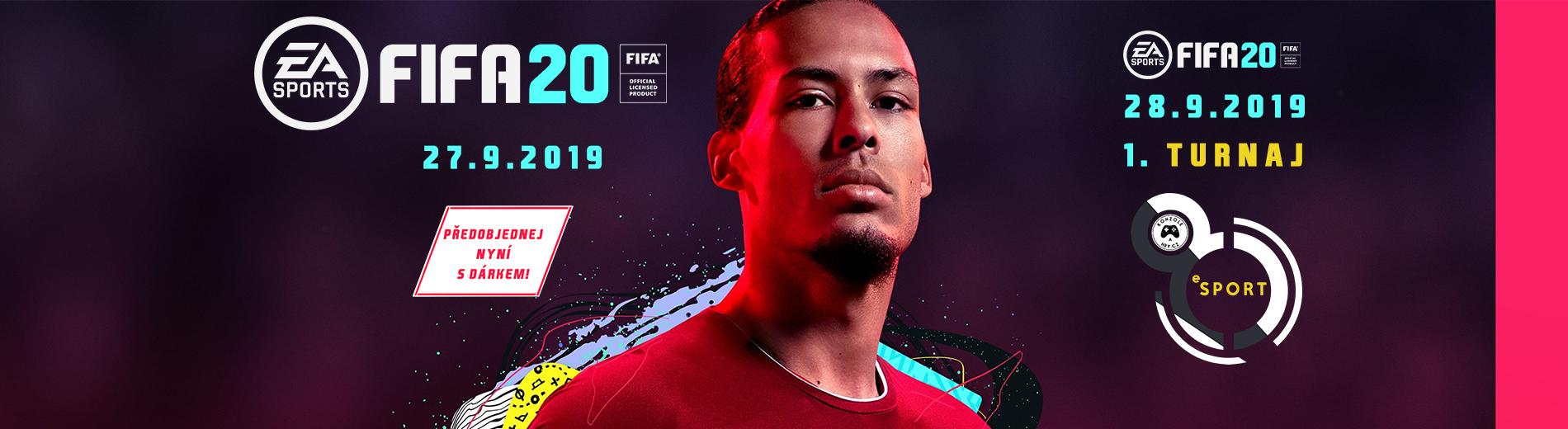 Turnaj FIFA 20 a představení eSport haly
