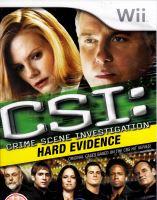 Nintendo Wii CSI: Crime Scene Investigation - Hard Evidence