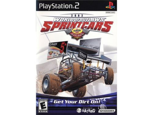 PS2 World of Outlaws Sprint Cars