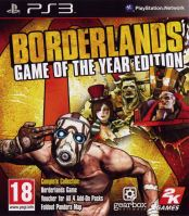 PS3 Borderlands - Game of the Year Edition