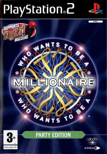 PS2 Buzz Chcete být Milionářem?