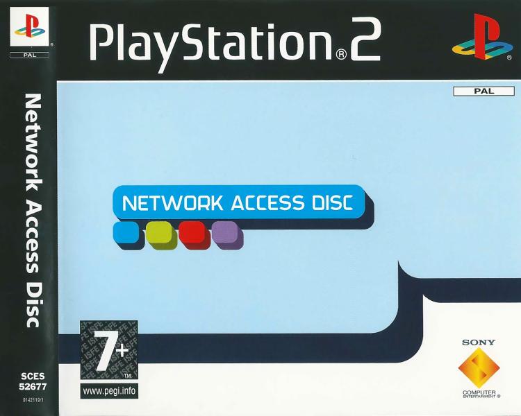 DVD Network Access Discs pro PlayStation 2 + Hardware: Online Arena (nepoužitelné)