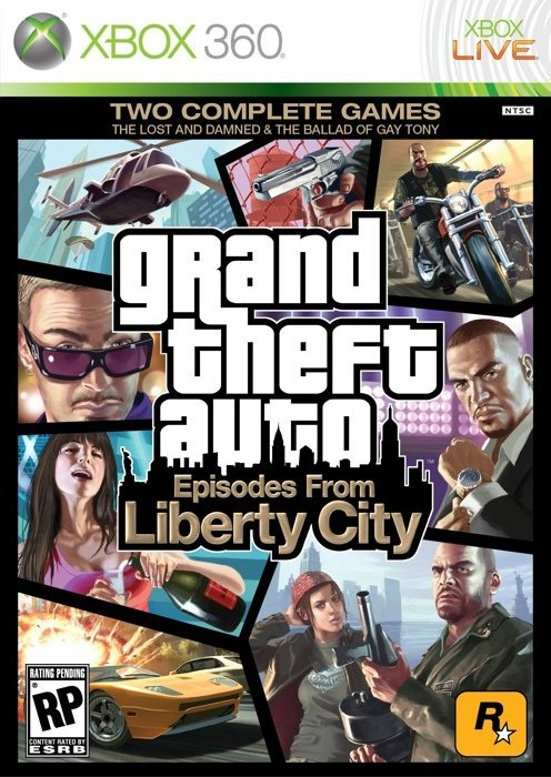 Xbox 360 GTA 4 Grand Theft Auto IV Episodes From Liberty City