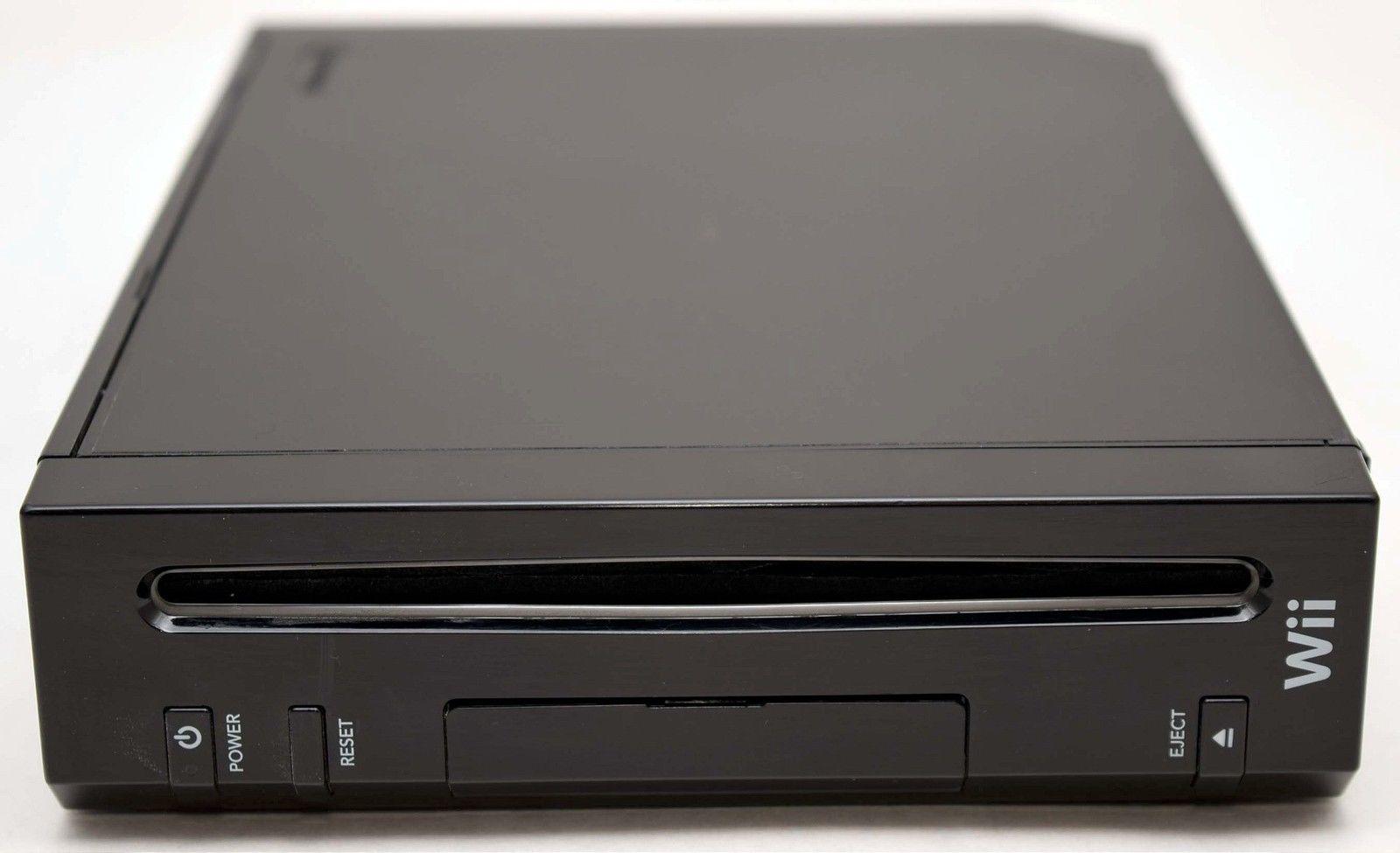 Nintendo Wii - herní konzole - černé