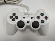 [PS2] Drátový Ovladač Sony Dualshock - bílý (nažloutlý) (estetická vada)