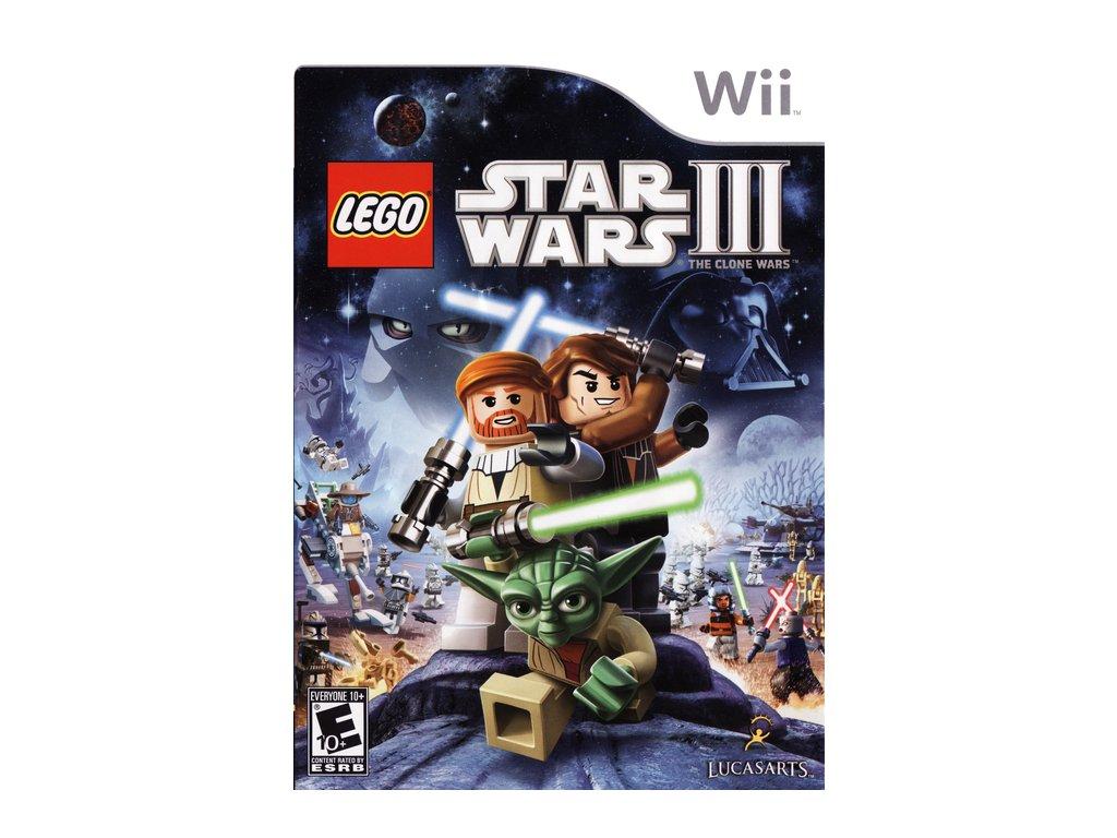 Nintendo Wii Lego Star Wars III: The Clone Wars