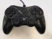 [PS3] Drátový Ovladač Gioteck - černý (estetická vada)