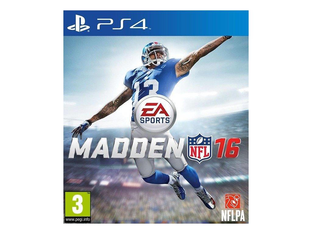 PS4 Madden NFL 16 2016