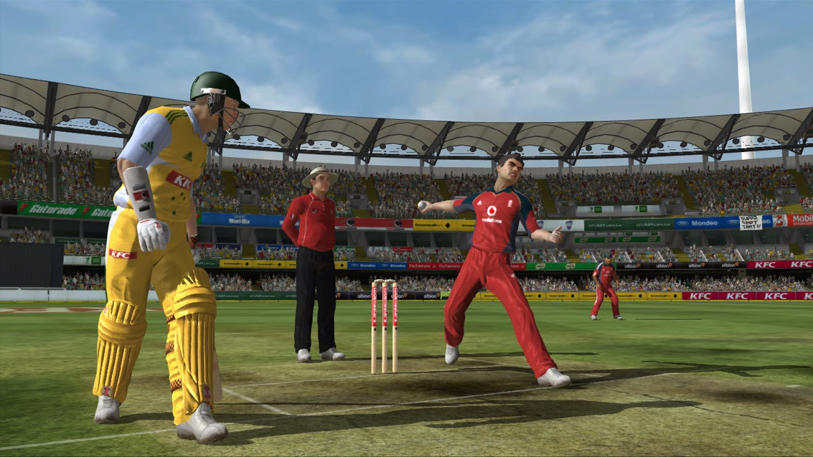 Xbox 360 Ashes Cricket 2009