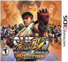 Nintendo 3DS Super Street Fighter 4: 3D Edition
