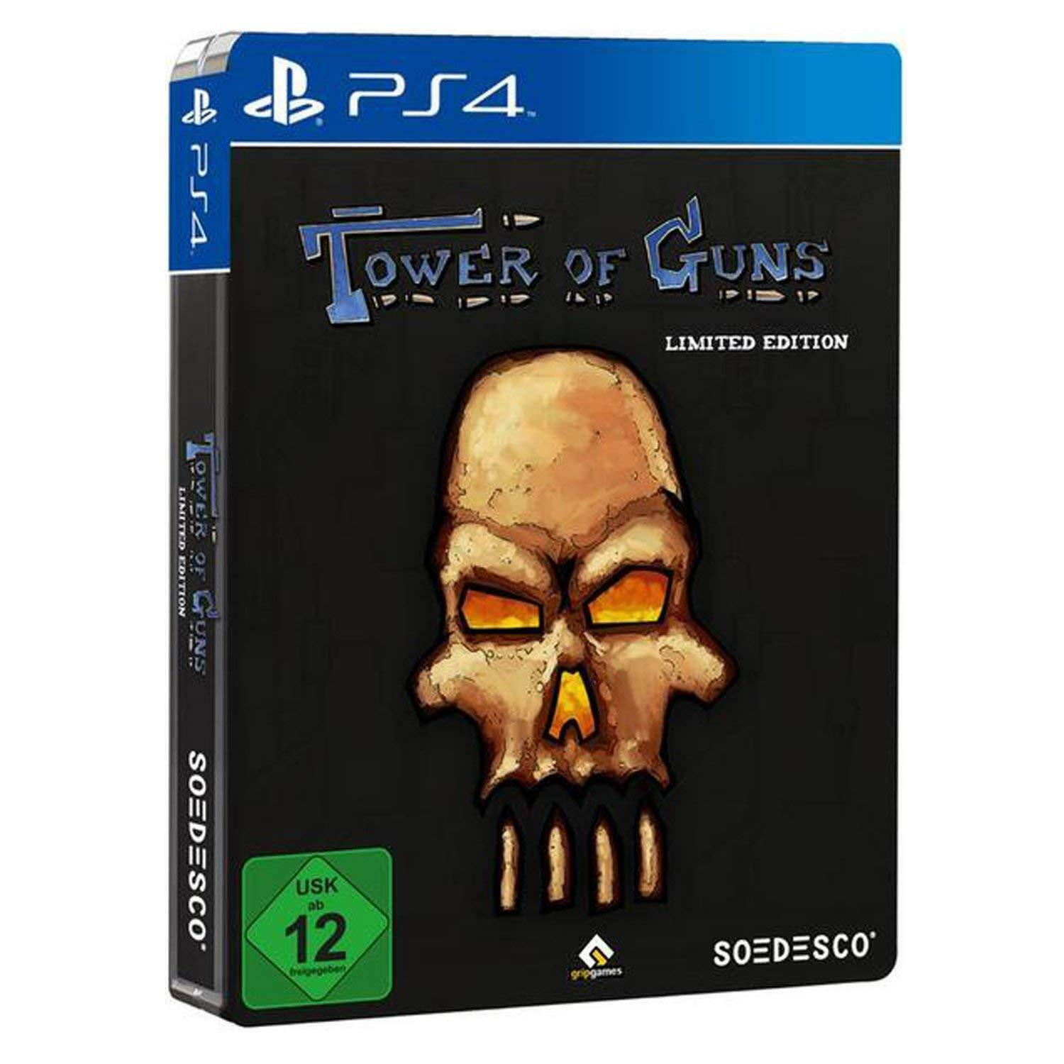 PS4 Tower of Guns Steelbook Edition (nová)