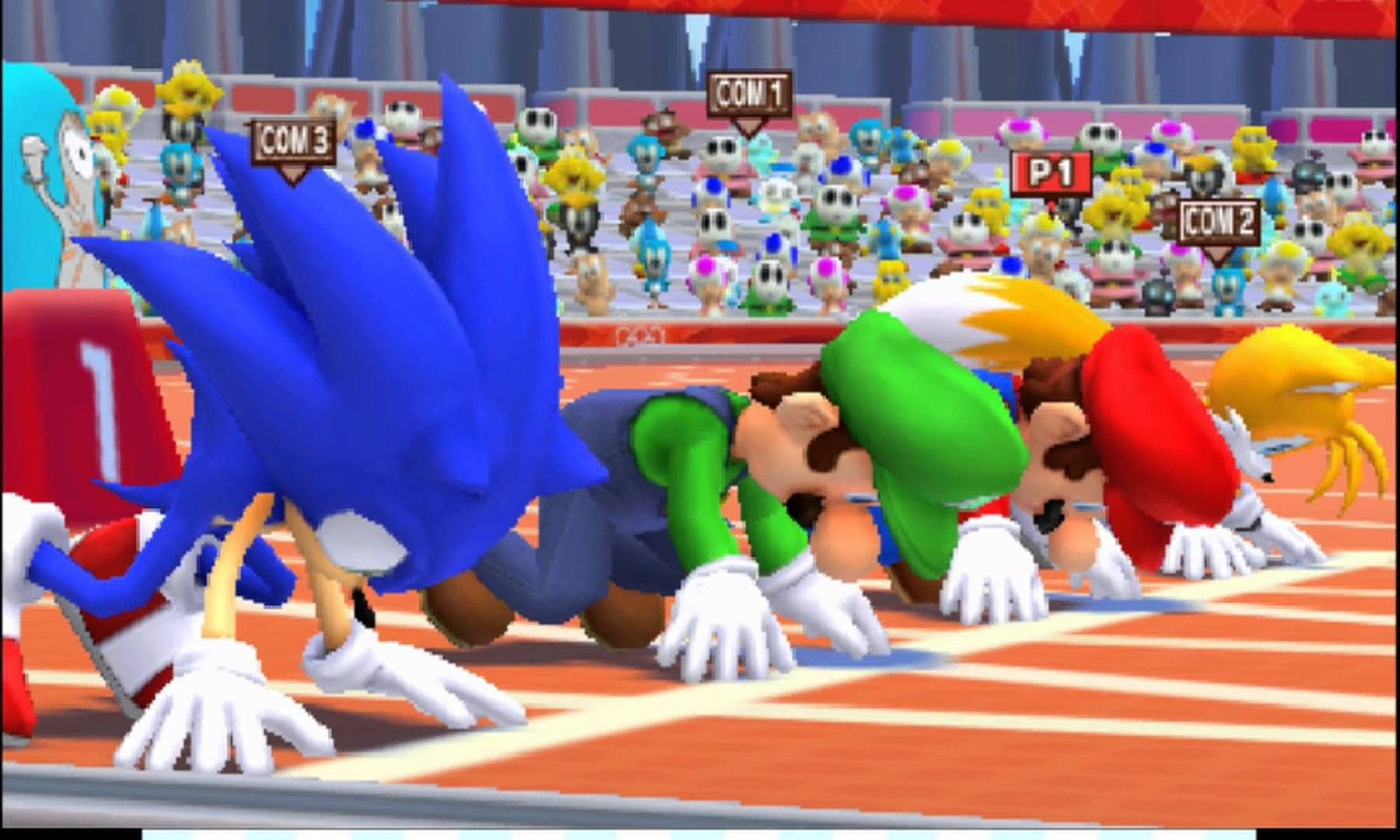 Nintendo Wii Mario & Sonic at the Olympic Games London 2012