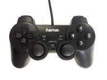 [PC] Drátový Ovladač Hama Black Force - černý (estetická vada)