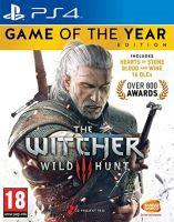 PS4 The Witcher 3: Wild Hunt, Zaklínač 3: Divoký hon - Edice Hra roku (CZ) (nová)