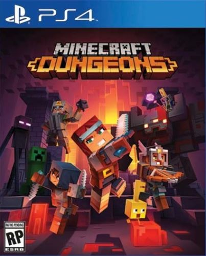 PS4 Minecraft Dungeons (Nová)
