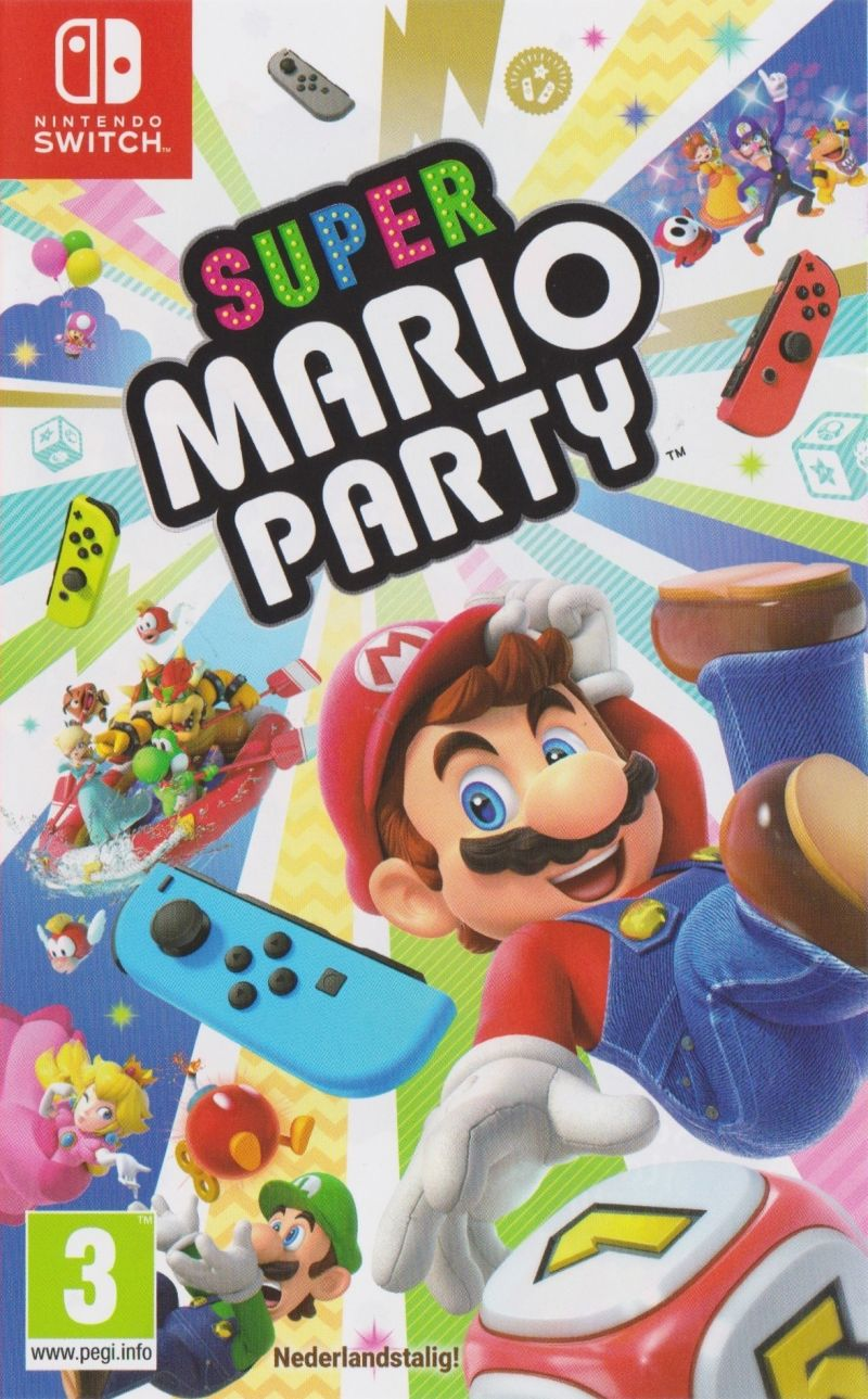 Nintendo Switch Super Mario Party (nová)