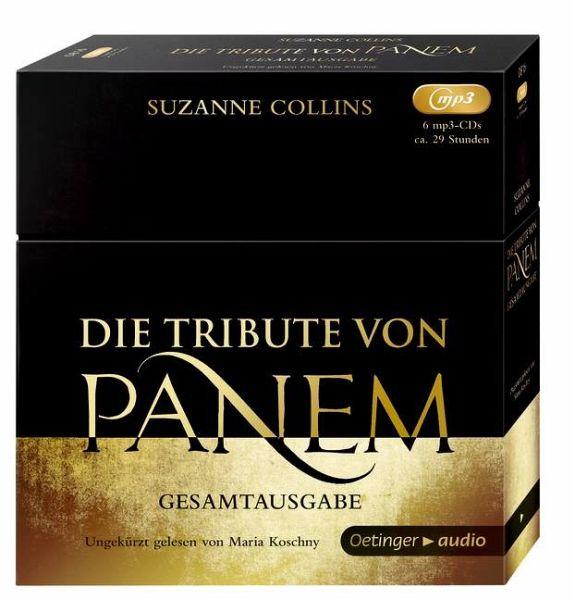 CD Hunger Games - Complete edition 6 MP3-CDs (Die Tribute von Panem, Gesamtausgabe)(Nový)