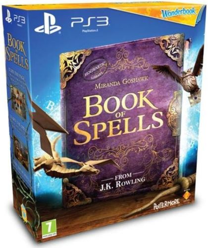 PS3 Move Wonderbook Book of Spells, Kniha Kouzel + Kniha (CZ) (originální balení)